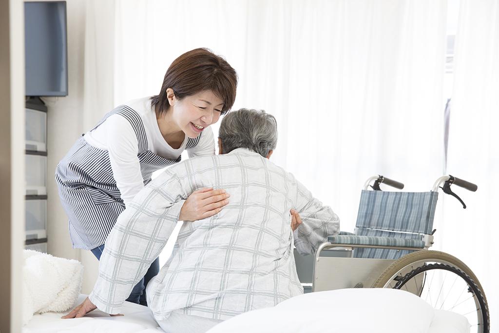 介護員の写真